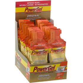 PowerBar Powergel Original Sports Nutrition Tropical Fruits  24 x 41g beige/orange